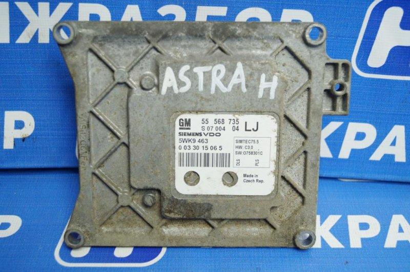 Блок управления двигателем Opel Astra H 1.6 Z16XER 2010 (б/у)
