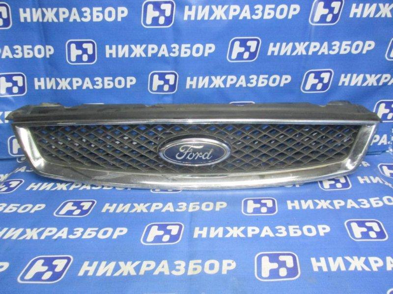 Решетка радиатора Ford Focus 2 СЕДАН 1.8 (QQDB) 2007 (б/у)