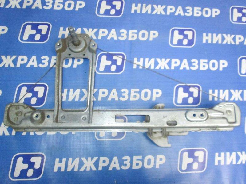 Стеклоподъемник мех. Ford Focus 1 СЕДАН 1.6 (CDDA) DURATEC ROCAM 2004 задний правый (б/у)