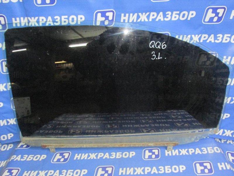 Стекло двери Chery Qq6 S21 1.3 (SQR473F) 2007 заднее левое (б/у)