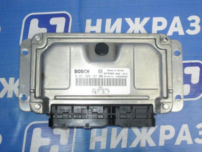 Блок управления двигателем Chery Qq6 S21 1.3 (SQR473F) 2007 (б/у)