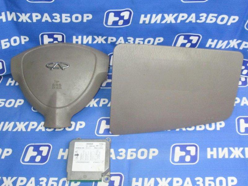 Комплект безопасности Chery Qq6 S21 1.3 (SQR473F) 2007 (б/у)