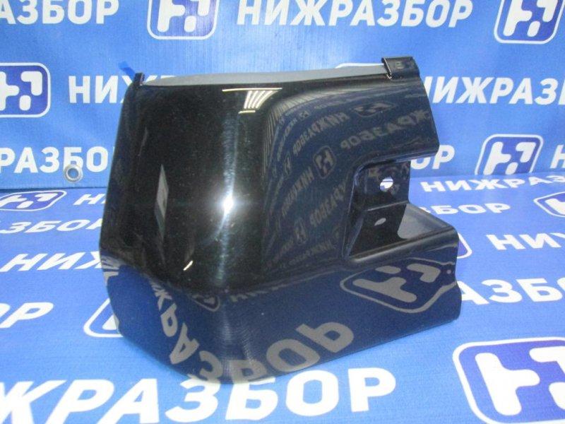 Накладка на порог (наружная) Mitsubishi Pajero Sport 2 KH 2008 (б/у)