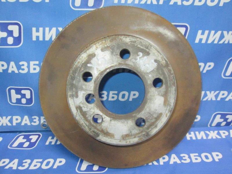 Диск тормозной Bmw X5 E53 2000 задний (б/у)