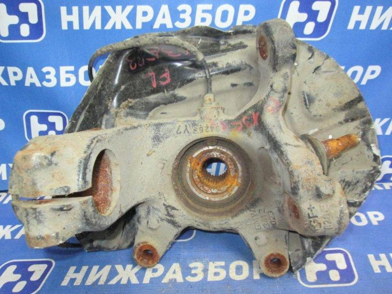 Кулак поворотный Bmw X3 E83 2004 передний левый (б/у)