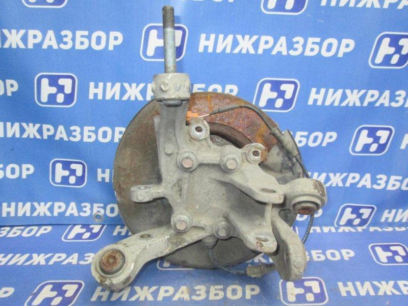 Кулак поворотный Honda Accord 7 2003 задний левый (б/у)