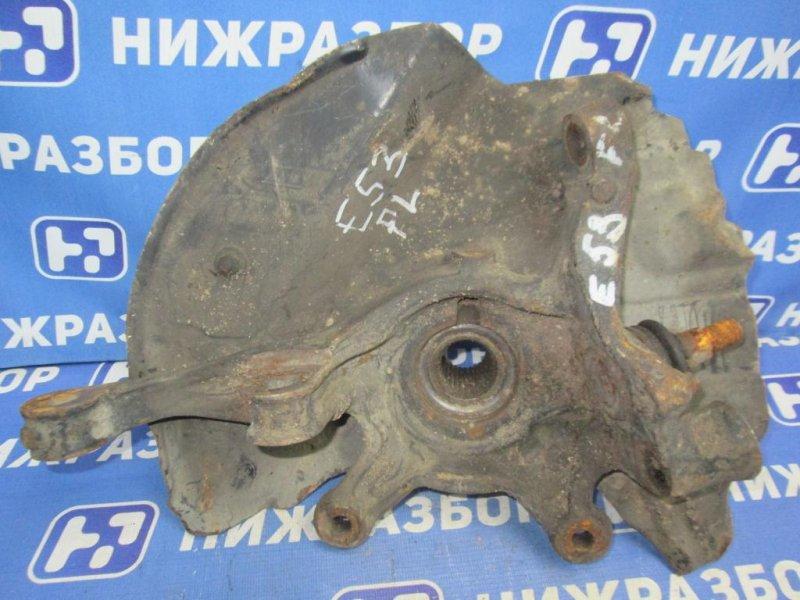 Кулак поворотный Bmw X5 E53 2000 передний левый (б/у)