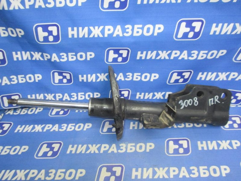Амортизатор Peugeot 3008 P84 1.6T 10FJC 2017 передний правый (б/у)