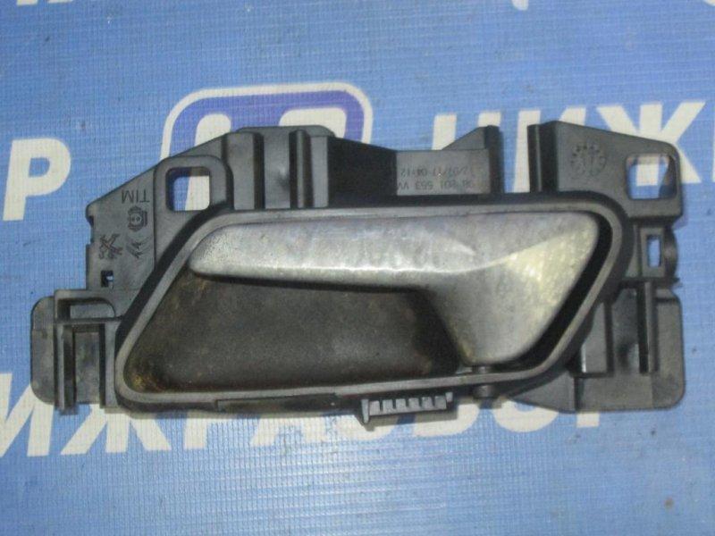 Ручка двери Peugeot 3008 P84 1.6T 10FJC 2017 задняя левая (б/у)