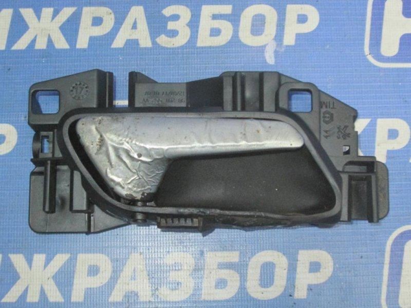 Ручка двери Peugeot 3008 P84 1.6T 10FJC 2017 передняя правая (б/у)