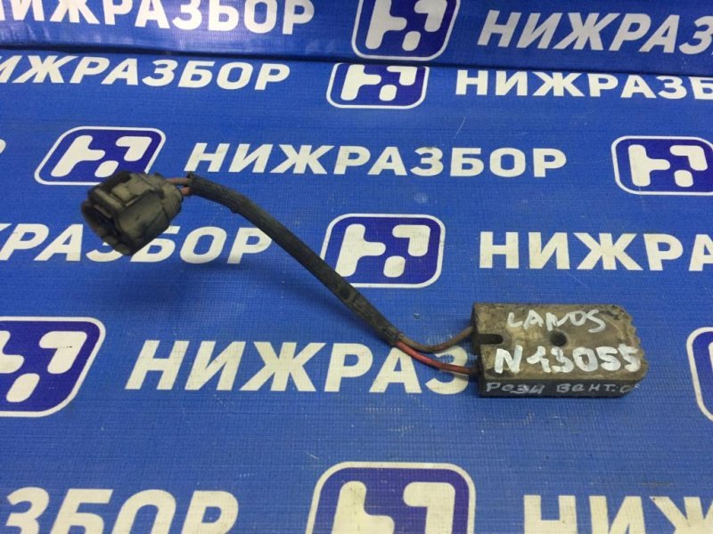 Блок управления вентилятором Chevrolet Lanos 1.5 (A15SMS) 2006 (б/у)