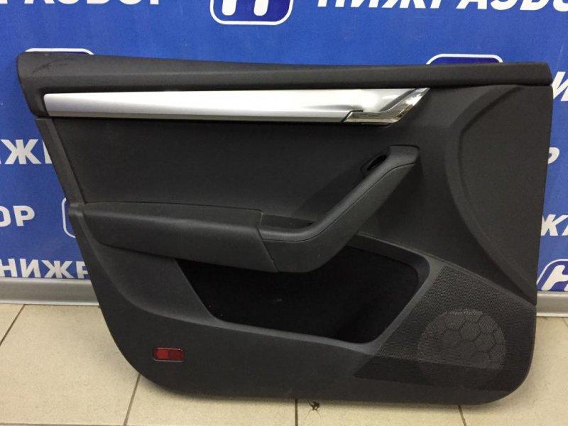 Обшивка двери Skoda Octavia A7 1.6 CWVA 2016 передняя левая (б/у)