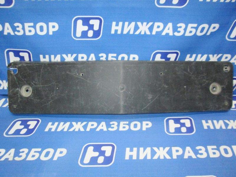 Накладка бампера под номер Mercedes A-Class W176 2012 передняя (б/у)