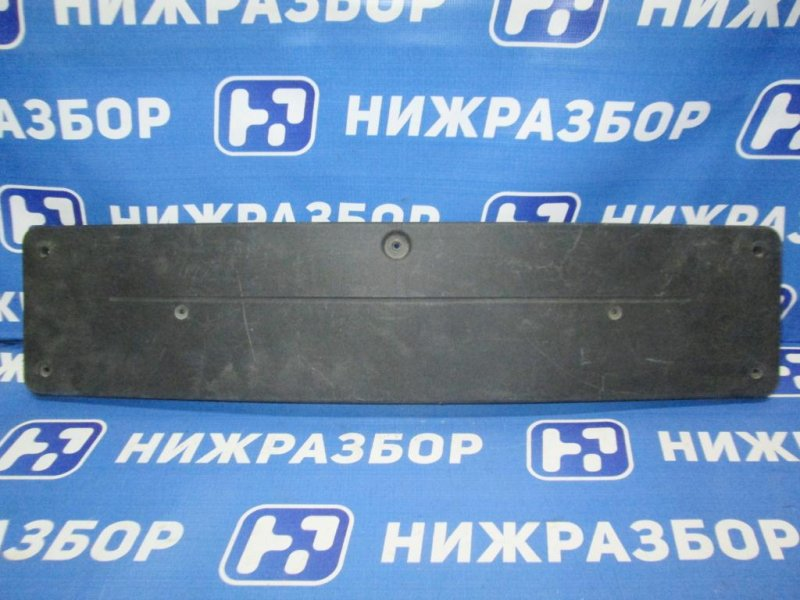 Накладка бампера под номер Mercedes E-Class W212 2009 передняя (б/у)