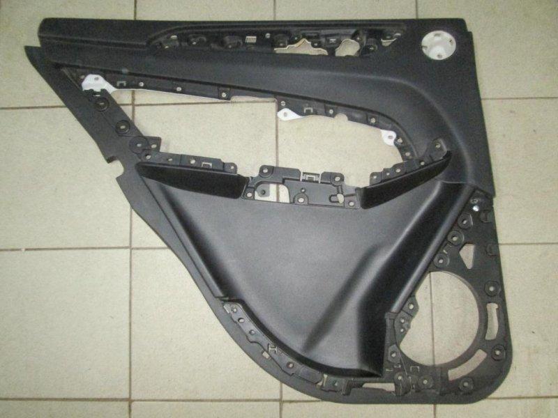 Обшивка двери Mercedes M-Class W166 2011> задняя левая (б/у)