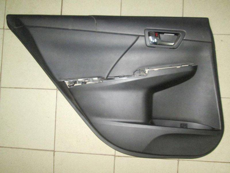 Обшивка двери Toyota Camry V50 2011 задняя левая (б/у)