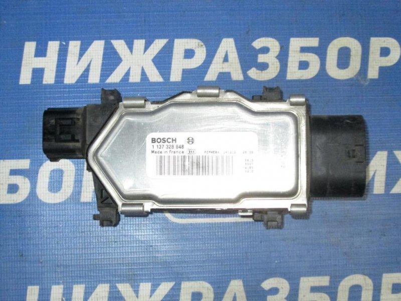 Блок управления вентилятором Mercedes Cla-Class W117 2013 (б/у)