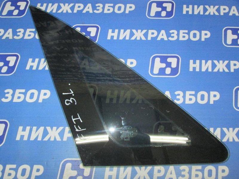 Форточка Ford Focus 1 СЕДАН 2.0 SPLIT PORT 2000 задняя левая (б/у)