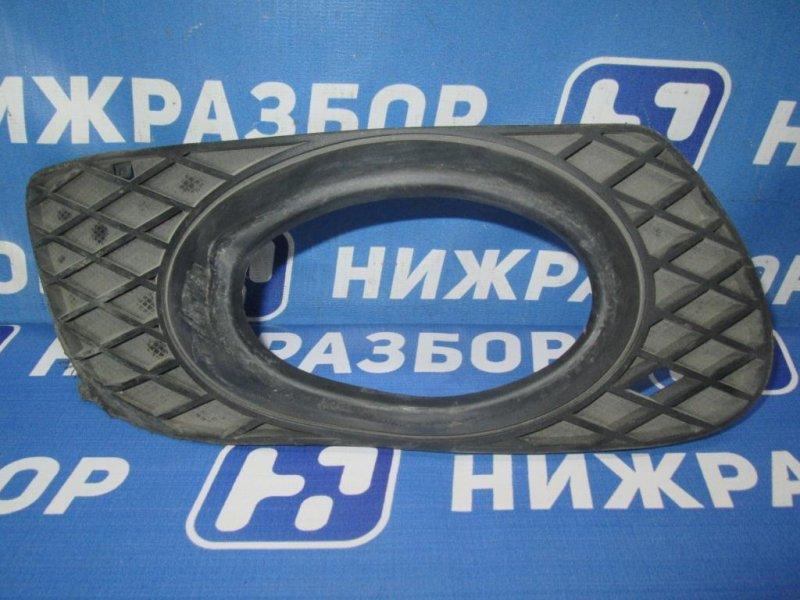 Решетка в бампер Mercedes M-Class W164 2005 правая (б/у)