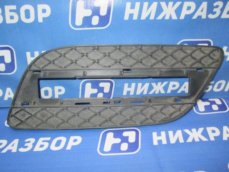 Решетка в бампер Mercedes M-Class W166 2011> правая (б/у)
