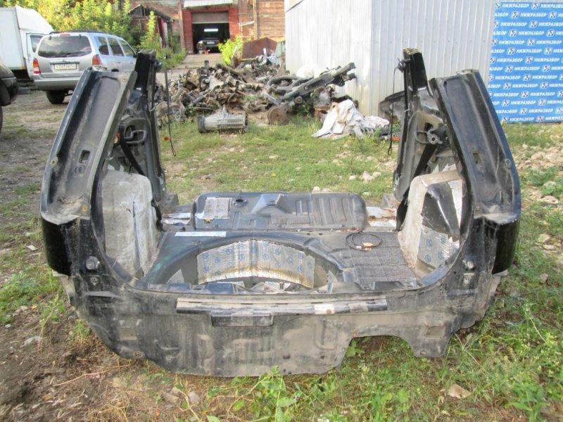 Часть кузова Ford Fiesta 1.4 (FXJA) 2006 задний (б/у)