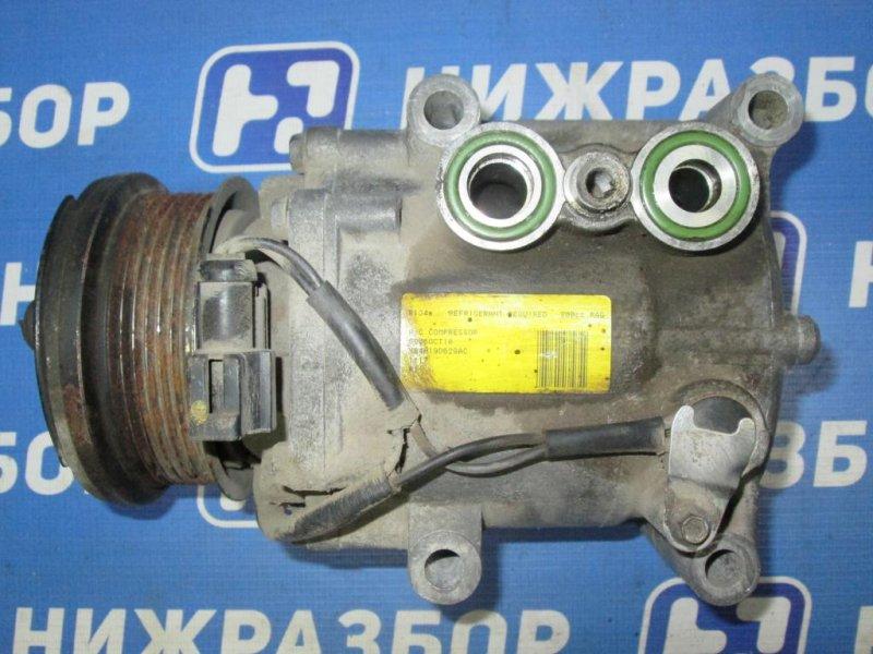Компрессор кондиционера Ford Fiesta 1.4 (FXJA) 2006 (б/у)