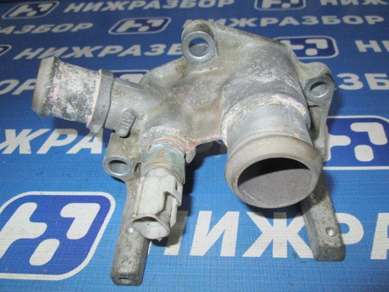 Фланец двигателя системы охлаждения Ford Fiesta 1.4 (FXJA) 2006 (б/у)