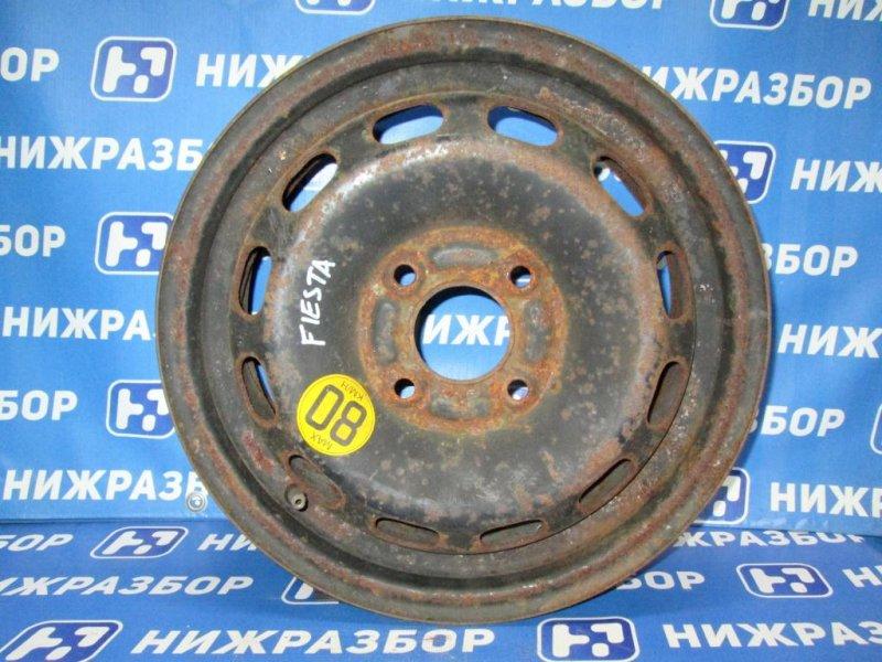 Диск штампованный Ford Fiesta 1.4 (FXJA) 2006 (б/у)