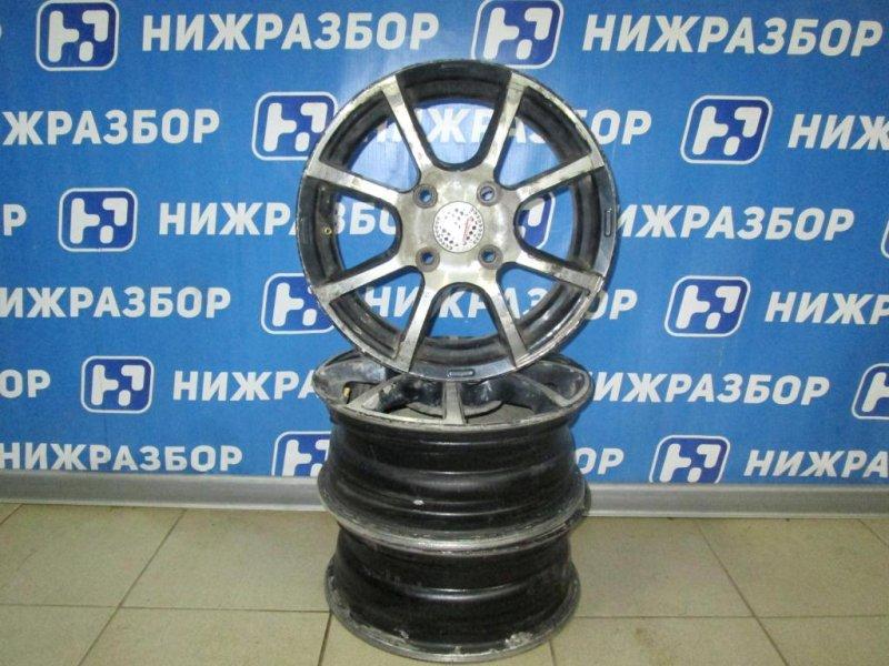Диск литой Ford Fiesta 1.4 (FXJA) 2006 (б/у)