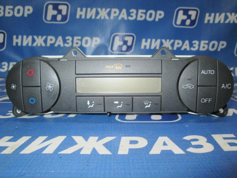 Блок управления климатической установкой Ford Fiesta 1.4 (FXJA) 2006 (б/у)