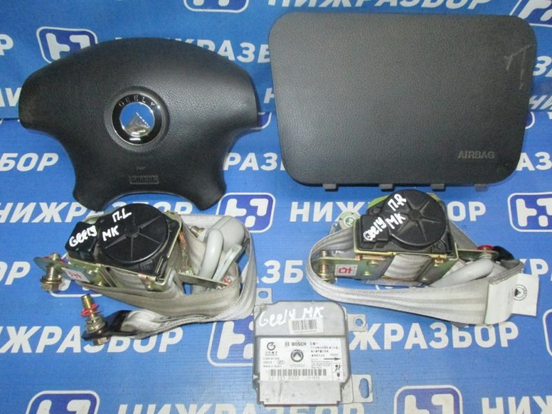 Комплект безопасности Geely Mk 1.5 (MR479QA) 2008 (б/у)