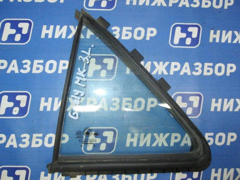 Форточка двери Geely Mk 1.5 (MR479QA) 2008 задняя левая (б/у)