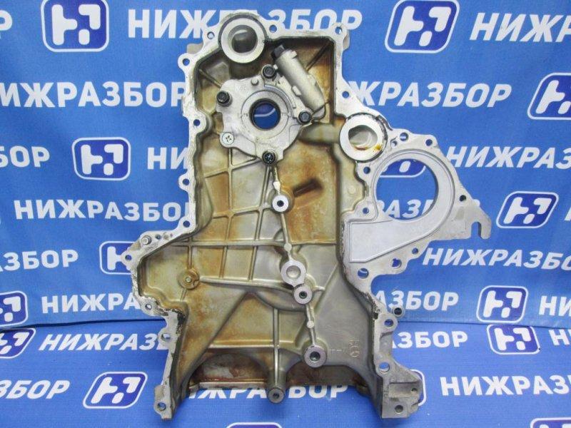 Крышка двигателя Kia Ceed 2 JD 1.6 (G4FG) 2014 передняя (б/у)