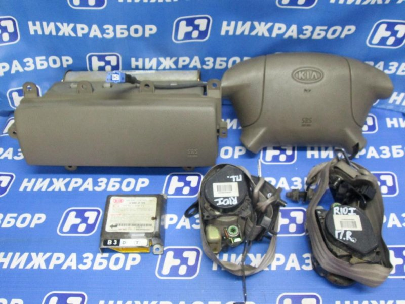 Комплект безопасности Kia Rio 1 DC 1.5 (A5D) 2004 (б/у)