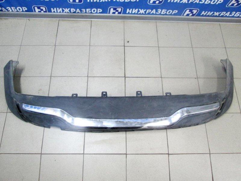 Юбка бампера Mercedes M-Class W166 2011> задняя (б/у)