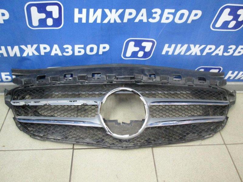 Решетка радиатора Mercedes C-Class W205 2014> (б/у)