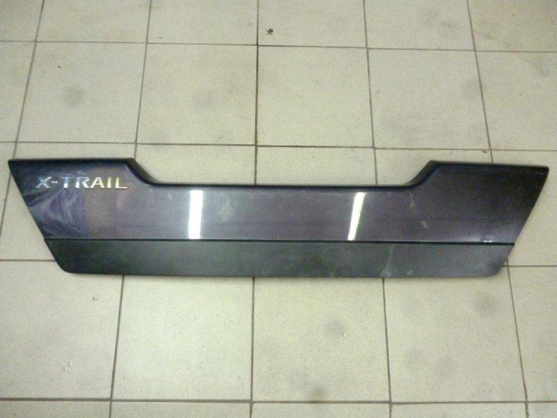 Накладка двери багажника Nissan X-Trail T31 2007 (б/у)
