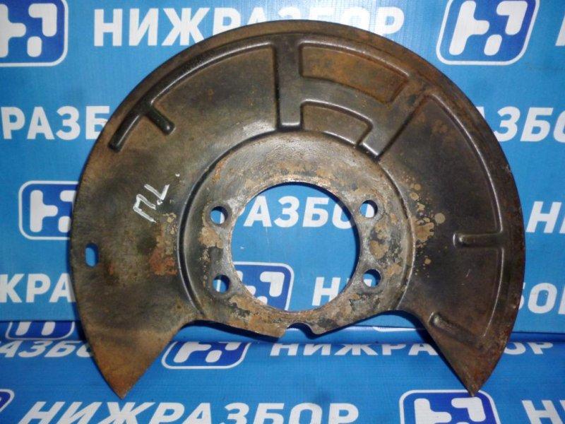 Пыльник тормозного диска Infiniti Fx 35 S51 2008 (б/у)