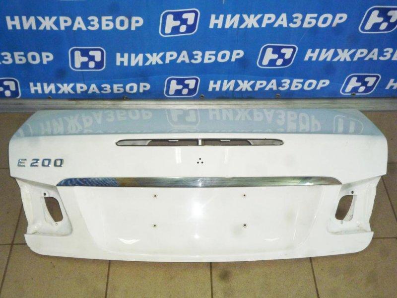 Крышка багажника Mercedes E-Class W212 2009 (б/у)