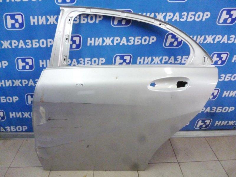 Дверь Mercedes A-Class W176 2012 задняя левая (б/у)