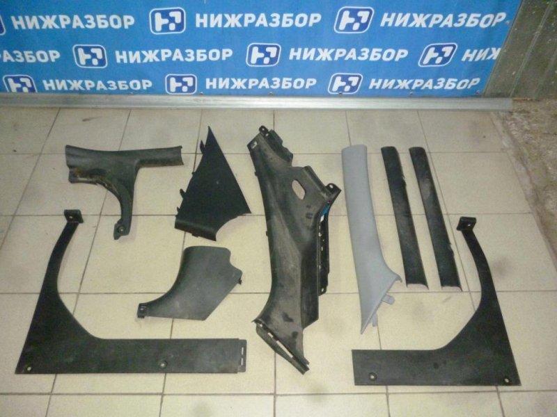 Пластик салонный Hyundai Solaris RB 2010 (б/у)