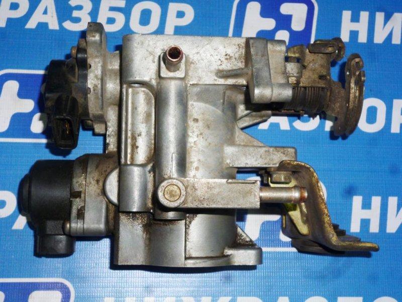 Заслонка дроссельная Toyota Mark 2 X10 2.0 (1G-FE) 1996 (б/у)