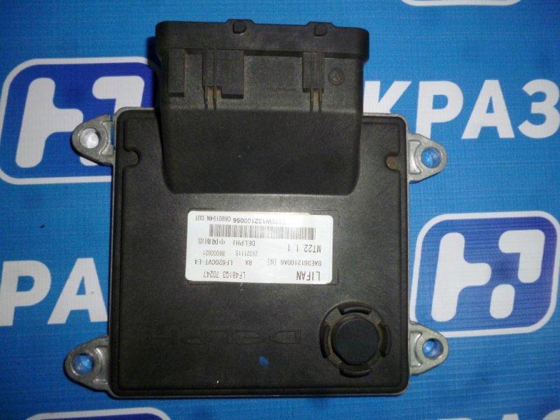 Блок управления двигателем Lifan Solano 620 1.6 (LF481Q3) 2013 (б/у)