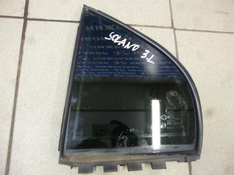 Форточка двери Lifan Solano 620 1.6 (LF481Q3) 2013 задняя левая (б/у)