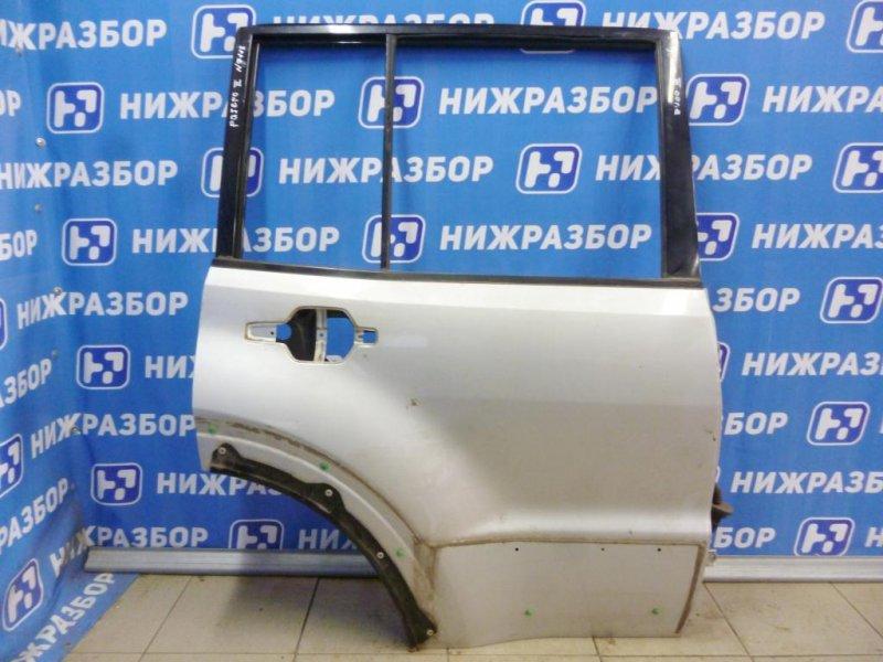 Дверь Mitsubishi Pajero 3 2000 задняя правая (б/у)
