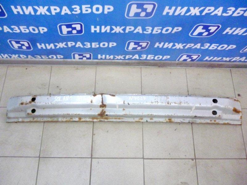 Усилитель бампера Lifan Solano 620 2010 задний (б/у)