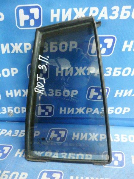 Форточка двери Kia Rio 1 DC 1.5 (A5D) 2004 задняя правая (б/у)