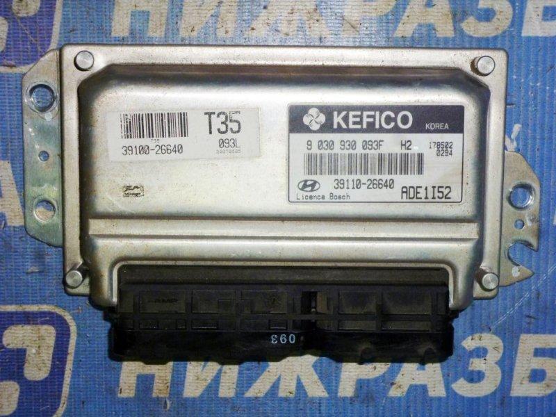 Блок управления двигателем Hyundai Accent 2 СЕДАН 1.5 (G4EC) 2007 (б/у)