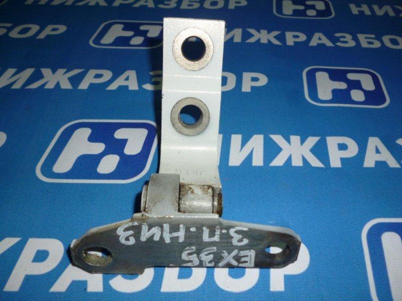 Петля двери Infiniti Ex 35 J50 3.5 (VQ35) 2008 задняя правая нижняя (б/у)
