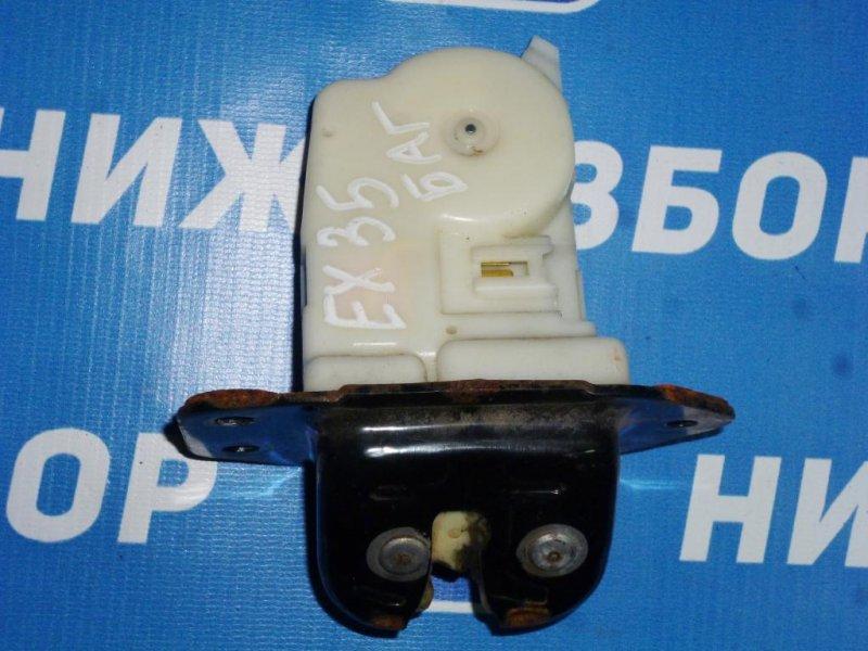 Замок багажника Infiniti Ex 35 J50 3.5 (VQ35) 2008 (б/у)